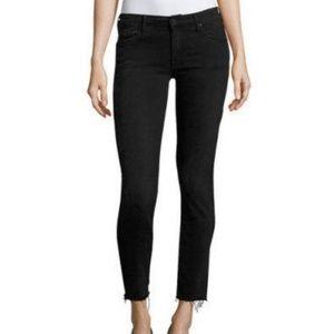 Madewell Roadtripper Raw Hem Skinny Jeans